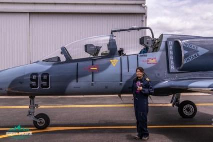 Me Next To The L-39C Albatros Jet Plane
