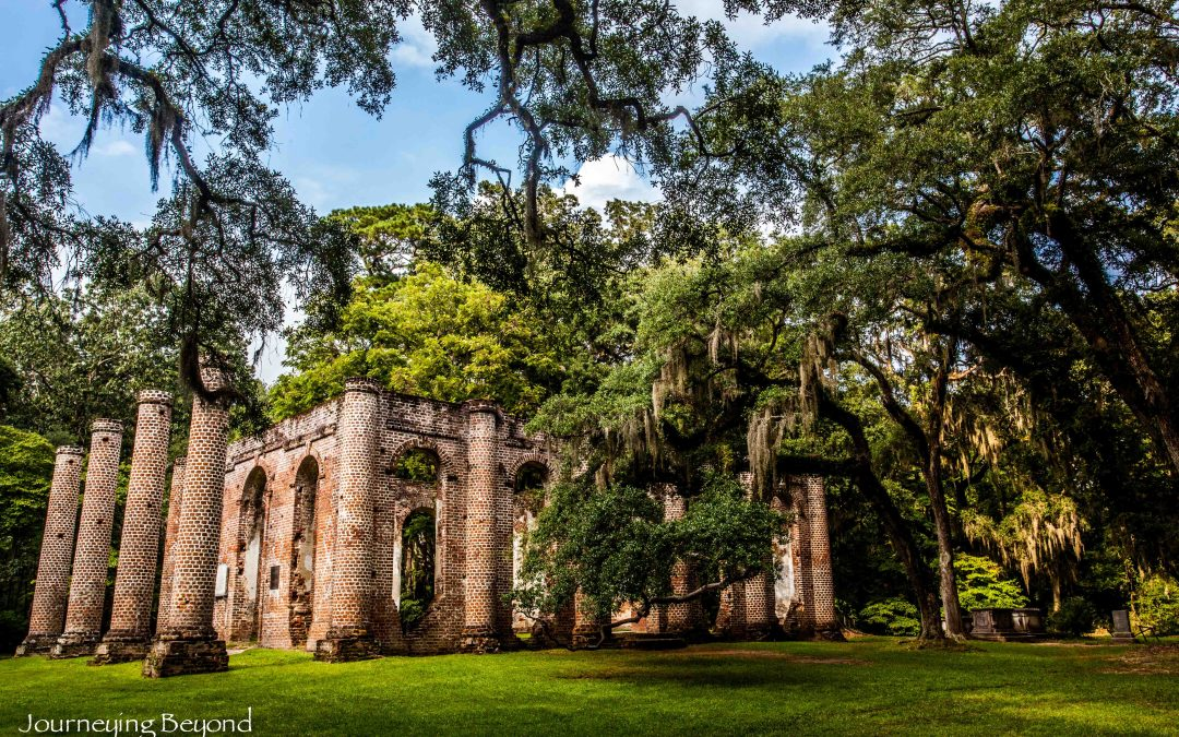 Ghosts Of the Past: The Old Sheldon Church Ruins