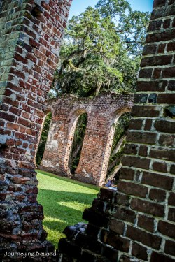 Old Sheldon Church Ruins-3