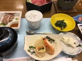 Our lunch: shabu-shabu