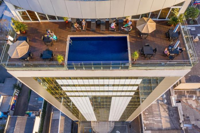 high rise hotel near iguazu falls brazil
