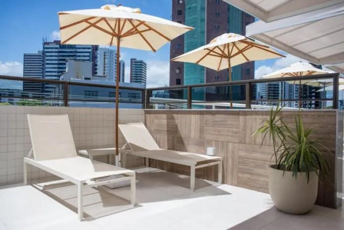 Hotel Vila d'Oro sun terrace