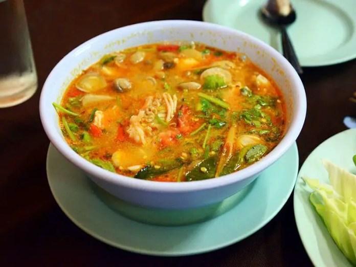 Tom Yam Tom Yum Traditional Thai Soup Dish