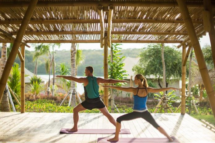Reveal your inner downward dog with Menjangan's yoga school