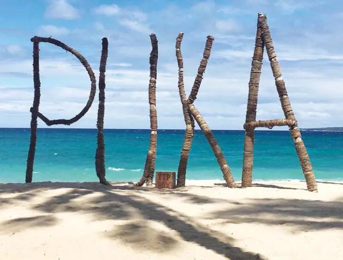 Puka Beach on Boracay Island