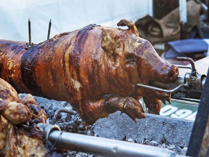 babi guling is a ceremonial dish in balinese food culture