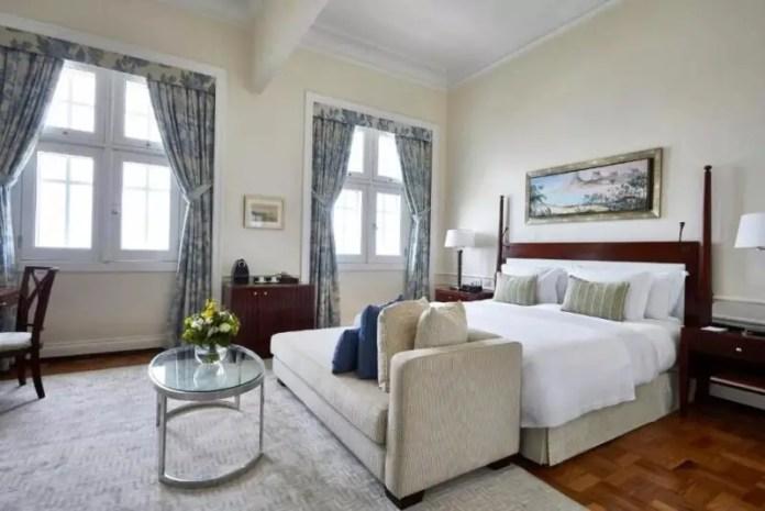 A suite at the Copacabana Palace