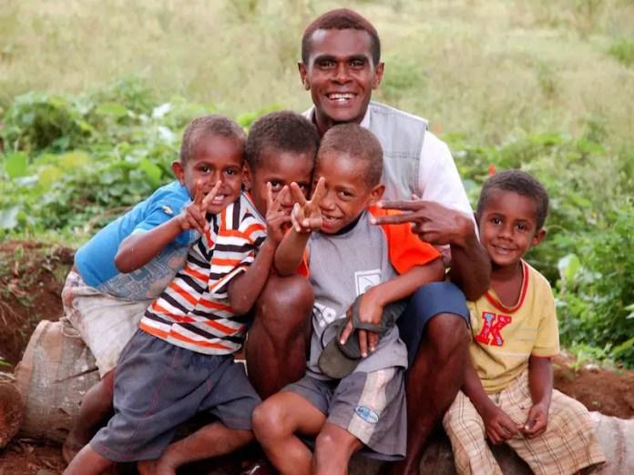 Fijian family