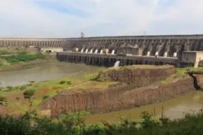 View of Itaipu Dam