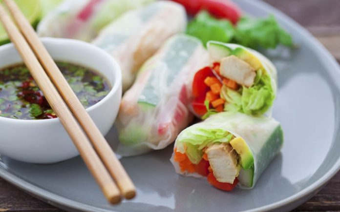 Vietnamese Food: Goi Cuon