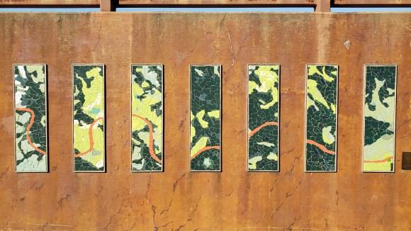 mosaic artwork, frisco