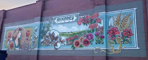 Mural depicting McKinney