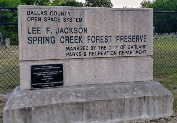 Spring Creek Forest Preserve, Garland