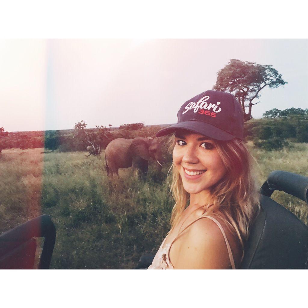 Amie Larsen with Safari365