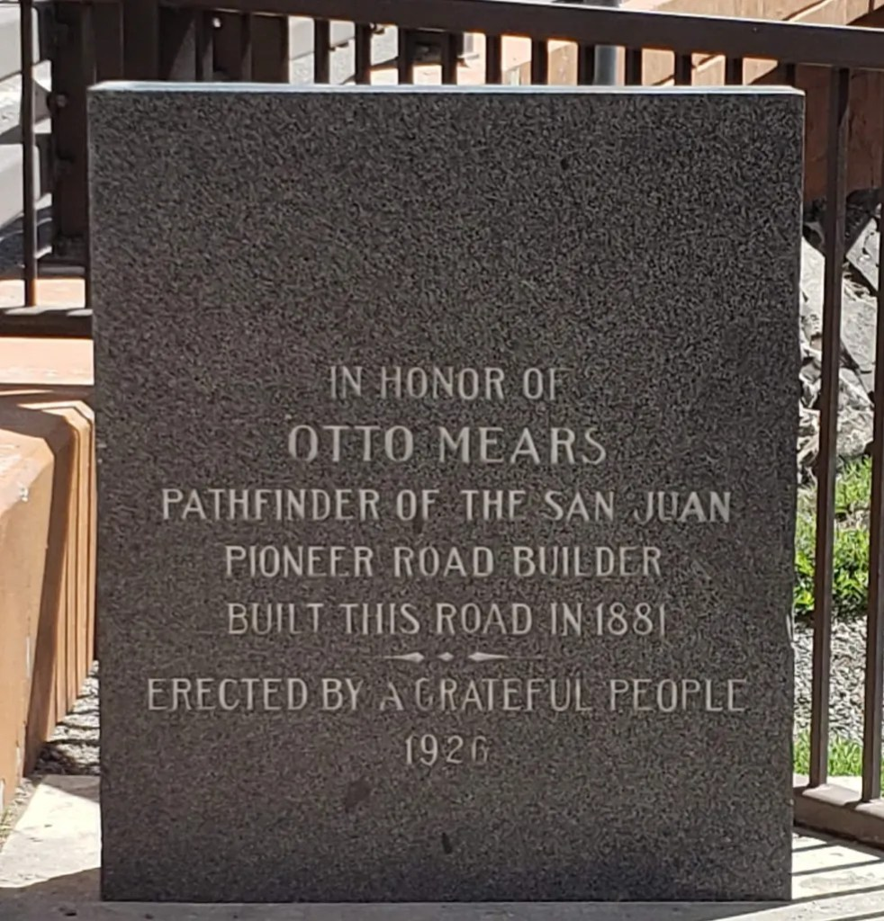 Memorial to Otto Mears