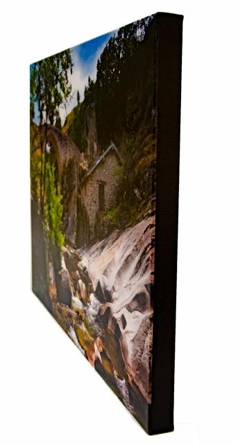 Filmski Most on Canvas with black edge wrap