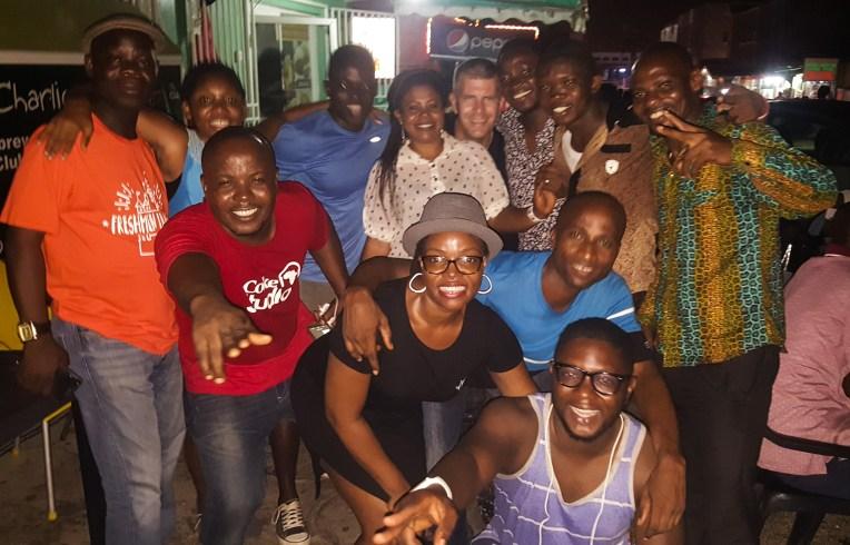 Night life in Benin...