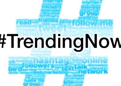 #TrendingNow