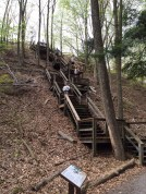 hike stairs