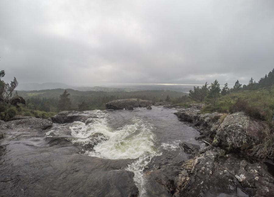 Tveitaelvo Waterfall