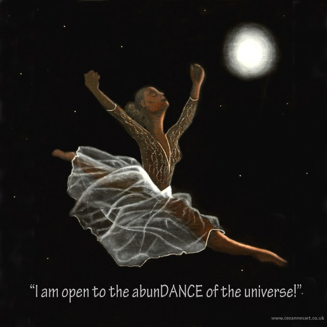 Moondance A3 Affirmation Print copy