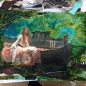 SoulCollage and Expressive Arts Exploration of River Journey