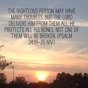 Psalm 34:19-20