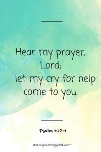 Psalm 102:1