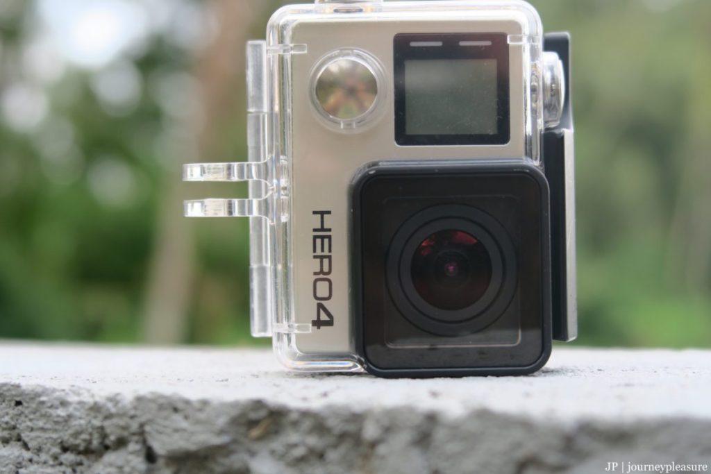 Packliste Schutzgehäuse für unsere GoPro HERO4 Black