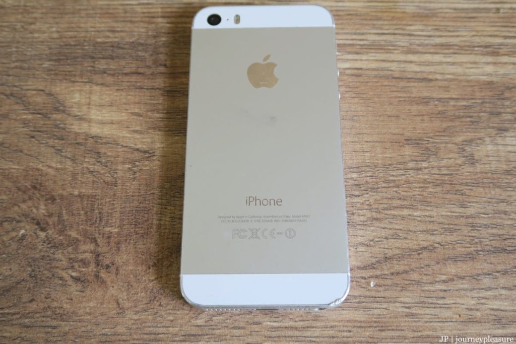 Packliste Apple iPhone 5S, 16GB Speicher