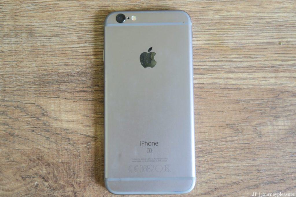 Packliste Apple iPhone 6s, 64GB Speicher
