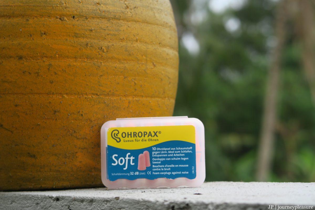 Packliste Ohropax Soft Ohrstöpsel