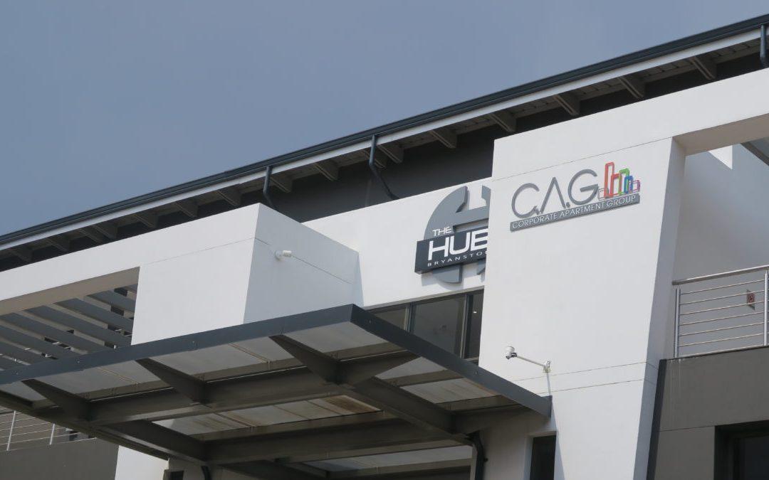 """THE HUB"" in Johannesburg"