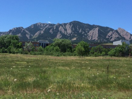 The NOAA Lab (and mountains) in Boulder