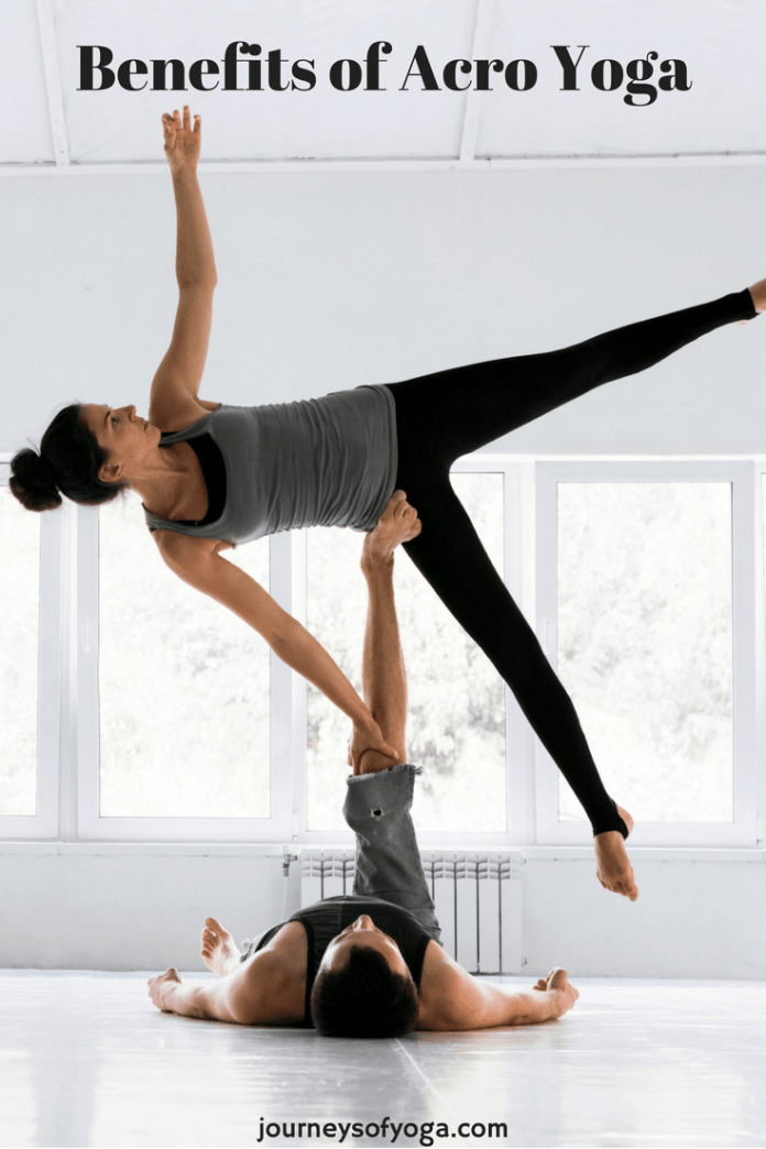 Acro yoga is amazing! You have to try this!