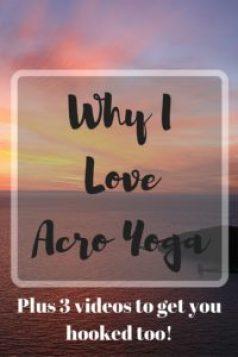 Why I Love Acro Yoga