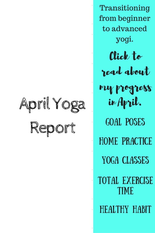 April Yoga Report
