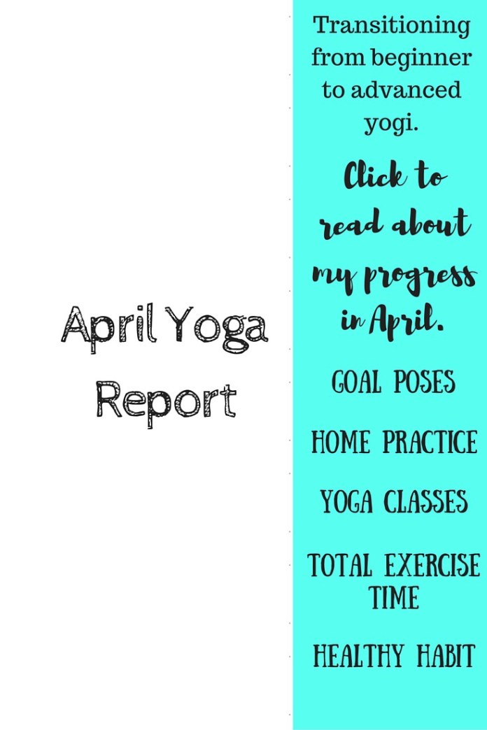 April Yoga Report