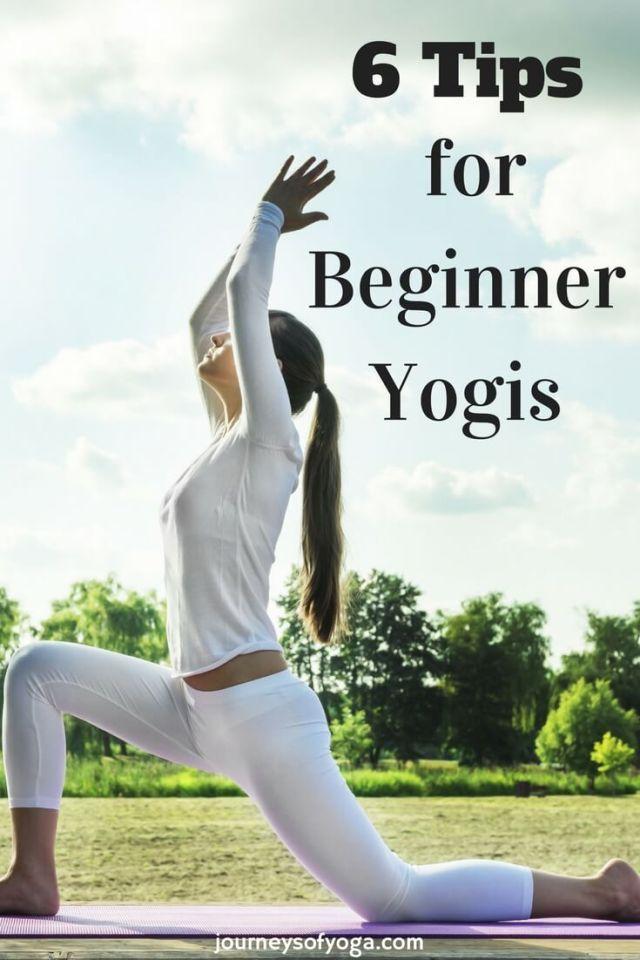 6 Tips for Beginner Yogis