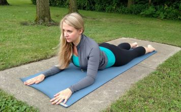 Sphinx Pose Yin Yoga: benefits, contraindications, pose guide, modifications