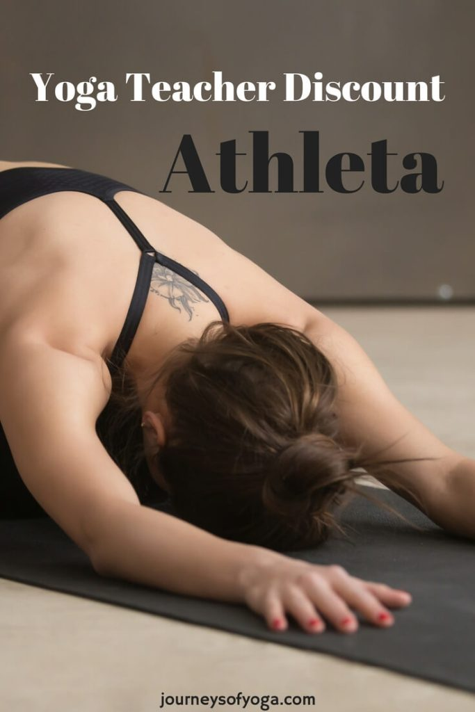 Check out this great Athleta yoga teacher discount!