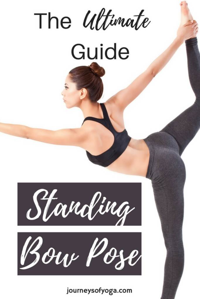 Standing Bow Pose is challenging, empowering, and beautiful. Check out this guide to the pose!