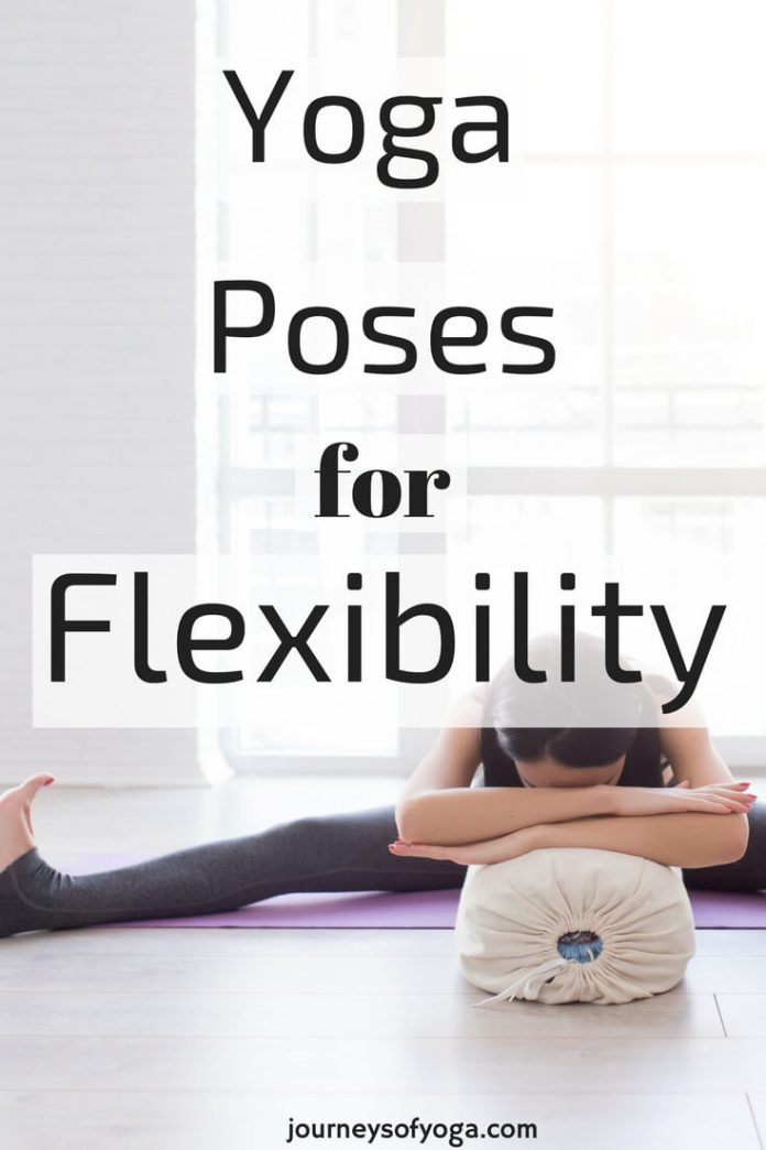 These 11 Yoga poses for flexibility are great for beginners wanting to increase their flexibility. I often hear people say that they aren't flexible enough for yoga, but the truth is, we do yoga to become flexible! While there are many other benefits of yoga besides flexibility, it is a life-changing side effect.