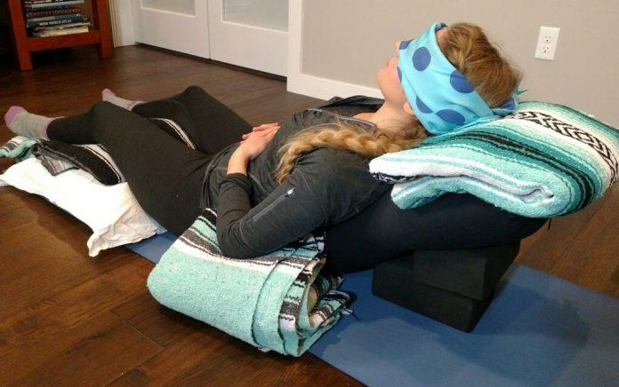 Restorative Yoga Sequence