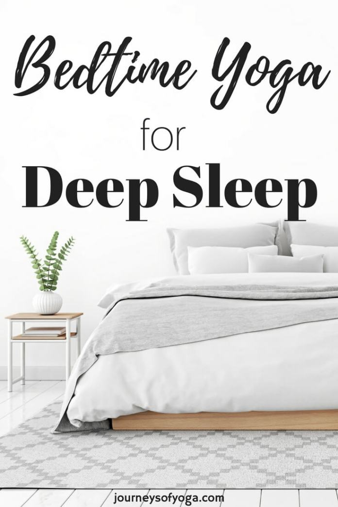 This bedtime yoga for deep sleep routine is the perfect way to end your day. The five poses will help relieve stress, slow your body down, and activate your parasympathetic nervous system. Your parasympathetic nervous system is...