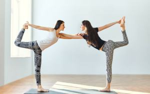 6 fun partner yoga poses to try today