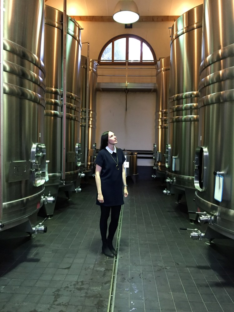 The tasting room at chateau minuty in Gassin