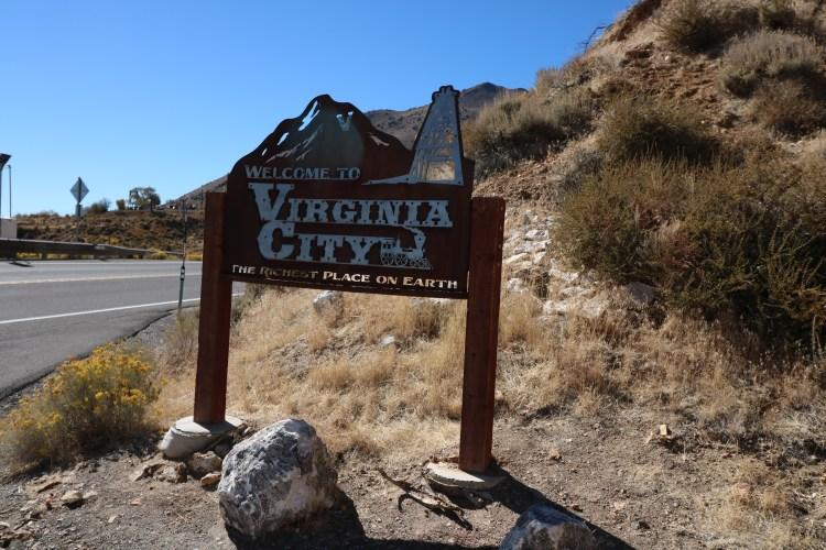 VIRGINIA CITY WELCOME