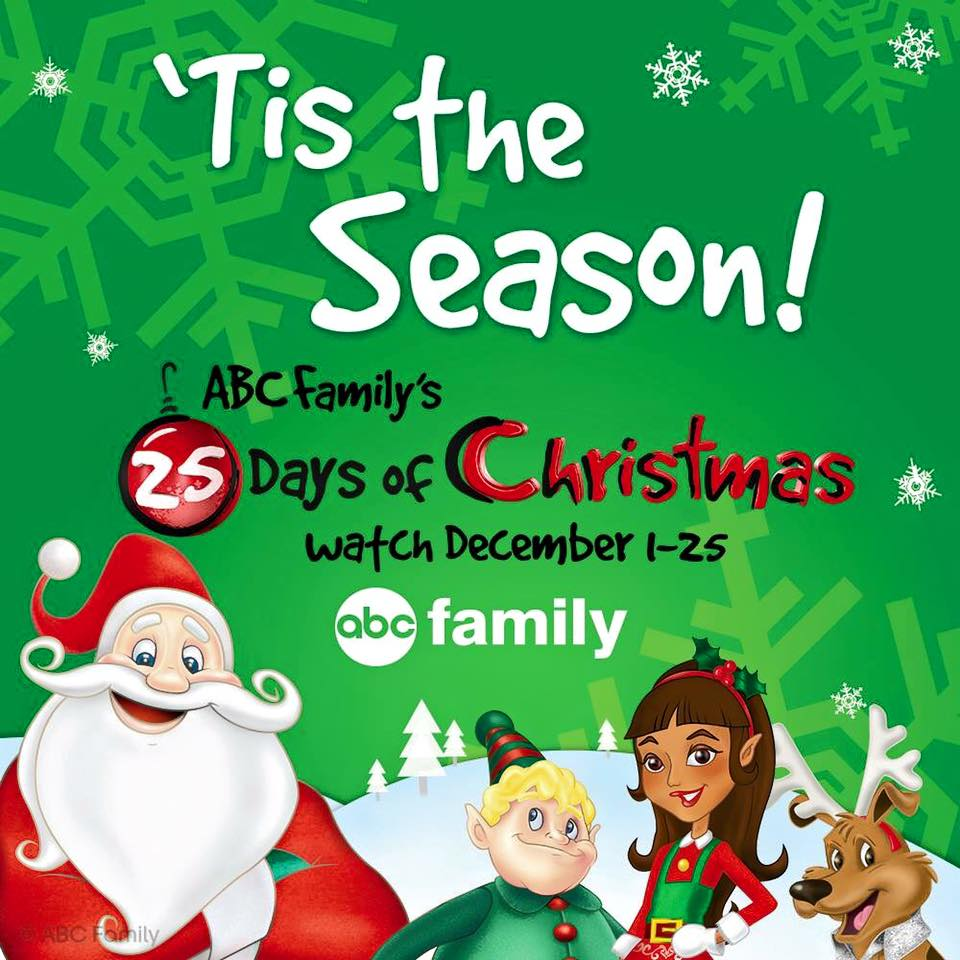 "ABC Family's ""25 Days of Christmas"" 2015 Schedule"