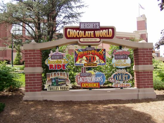 Hershey's Chocolate World: Year Round Chocolate Fun